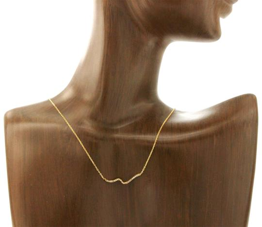 Preload https://img-static.tradesy.com/item/24126044/14k-yellow-gold-003-ct-diamonds-wave-necklace-0-1-540-540.jpg