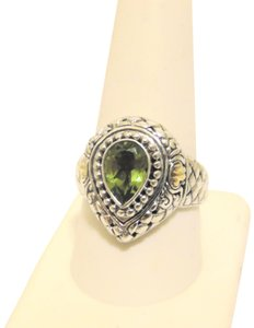 Other Artisan Crafted Peridot .925 Pear-Shaped Ring 10