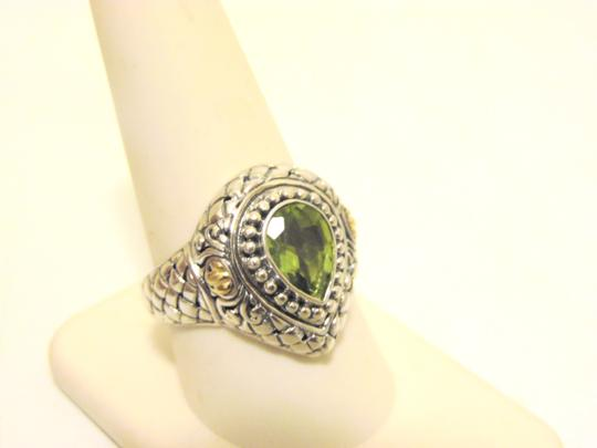 Other Artisan Crafted Peridot .925 Pear-Shaped Ring 10 Image 11