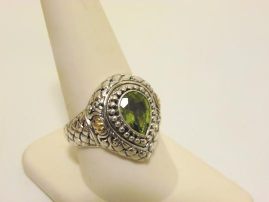 Other Artisan Crafted Peridot .925 Pear-Shaped Ring 10 Image 3