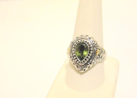 Other Artisan Crafted Peridot .925 Pear-Shaped Ring 10 Image 4