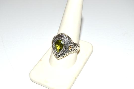 Other Artisan Crafted Peridot .925 Pear-Shaped Ring 10 Image 8