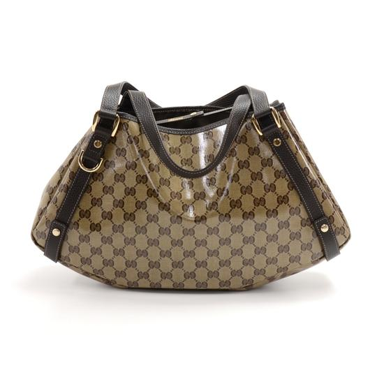 Preload https://img-static.tradesy.com/item/24126156/gucci-gg-monogram-crystal-coated-brown-leather-beige-canvas-shoulder-bag-0-0-540-540.jpg