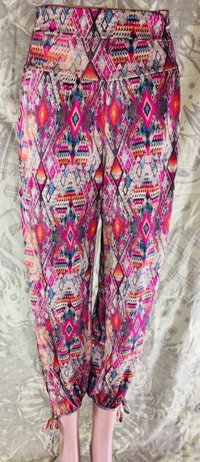 Onzie Multicolor Baggy Miguel One with Body Pants Size 6 (S, 28) Onzie Multicolor Baggy Miguel One with Body Pants Size 6 (S, 28) Image 1