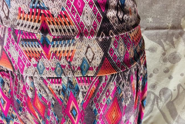 Onzie Relaxed Fit Stretchy Multicolor Baggy Pants Multi Image 1