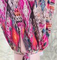 Onzie Relaxed Fit Stretchy Multicolor Baggy Pants Multi Image 2