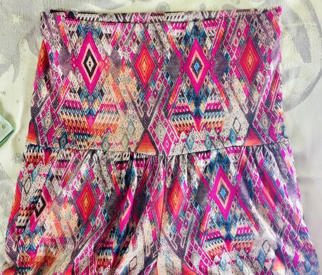 Onzie Relaxed Fit Stretchy Multicolor Baggy Pants Multi Image 9