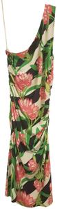 Lilly Pulitzer short dress Multi One Shoulder Floral Stretchy Summer Spring on Tradesy