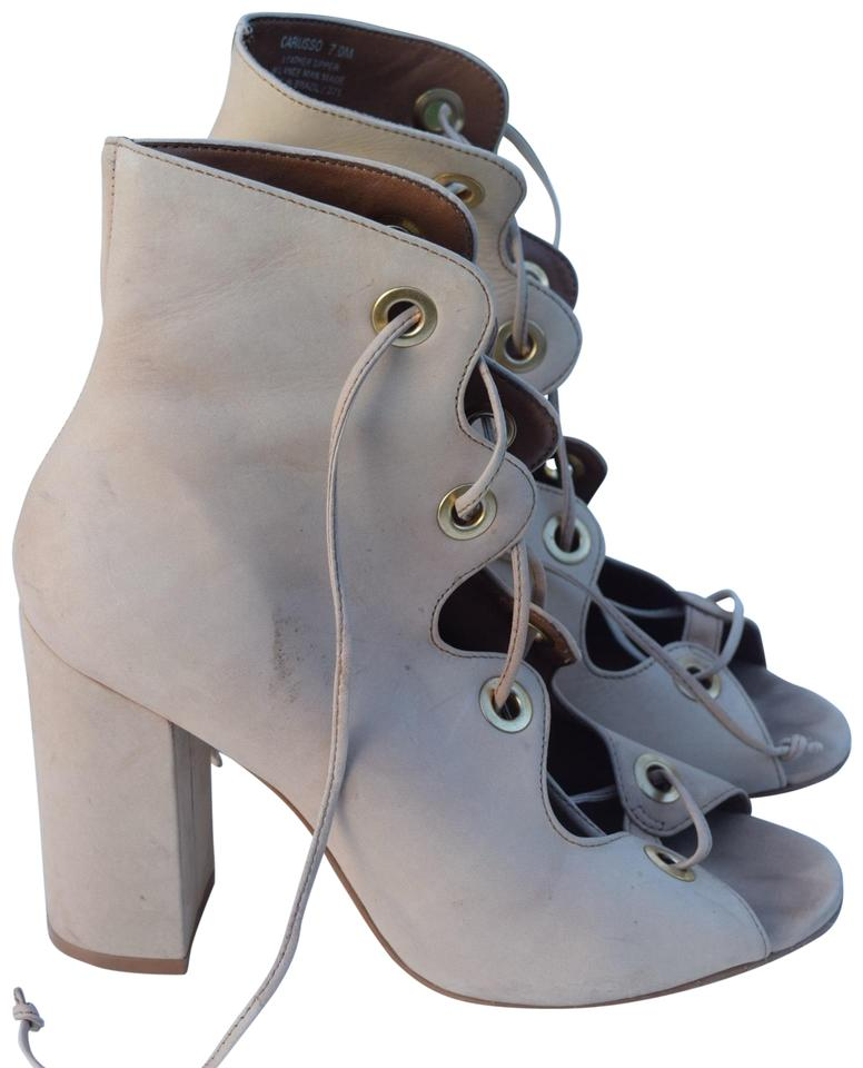 ab9f4383458 Cream Carusso Boots/Booties