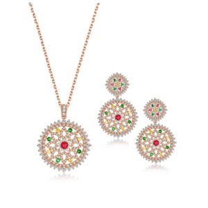 ME-Boutiques Private Label Collection Swarovski Crystals The Laurelei Necklace Set S17