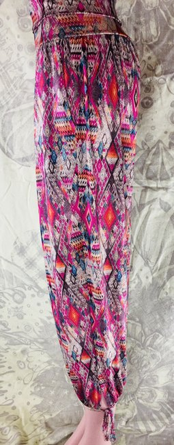 Onzie Relaxed Multicolor Baggy Pants Multi Image 8