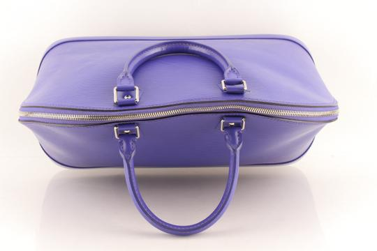 Louis Vuitton Alma Leather Tote in purple Image 5