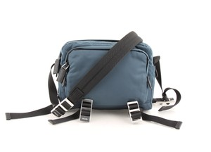 Prada Teal Technical Cross Body Bag