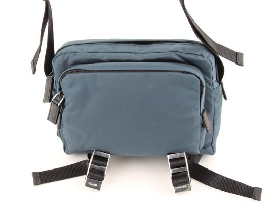 Prada Teal Technical Cross Body Bag Image 1