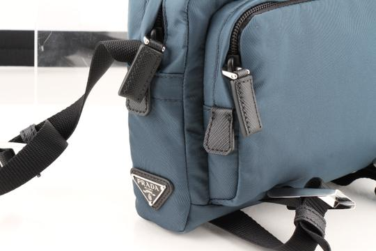 Prada Teal Technical Cross Body Bag Image 10