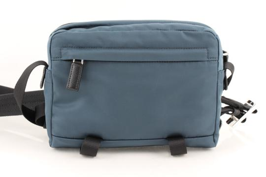 Prada Teal Technical Cross Body Bag Image 2