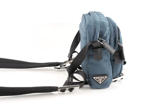 Prada Teal Technical Cross Body Bag Image 3