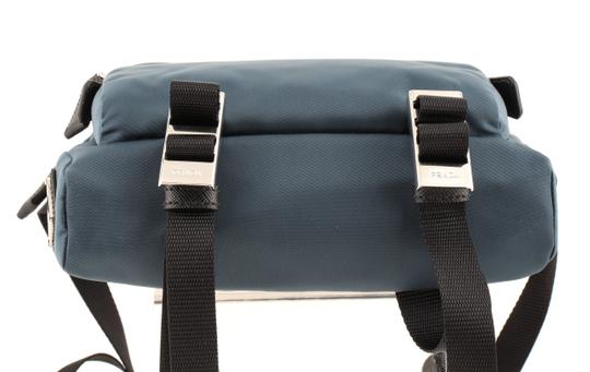 Prada Teal Technical Cross Body Bag Image 5