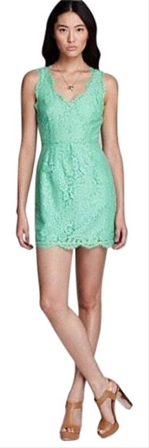 Joie Green Rori Mid-length Short Casual Dress Size 4 (S) Joie Green Rori Mid-length Short Casual Dress Size 4 (S) Image 1