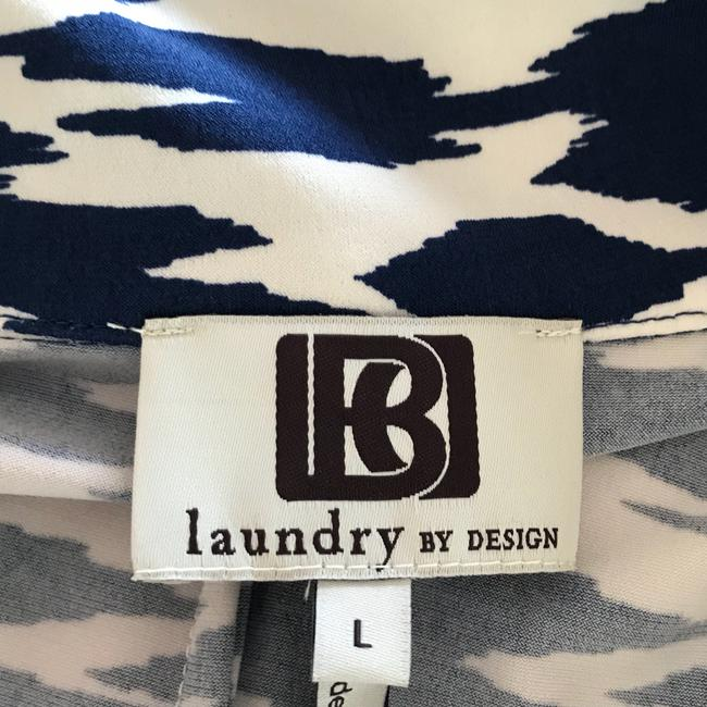 Laundry by Design Skirt navy blue and white Image 3