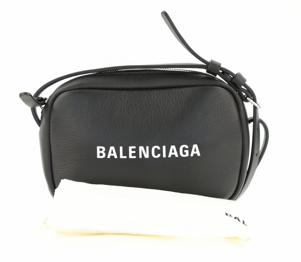 6cea06e3733c Balenciaga Everyday Camera Xs Black Leather Cross Body Bag - Tradesy
