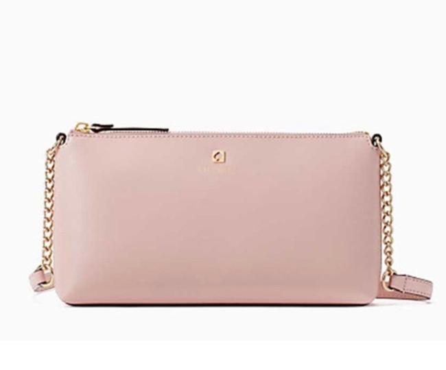 Item - Smooth ❤️ Light Pink/Gold Leather Cross Body Bag