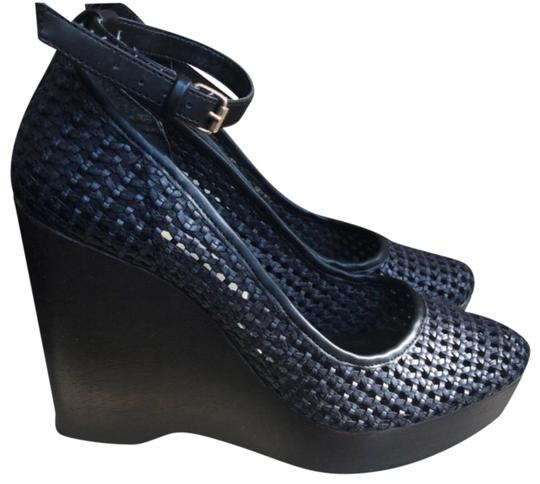Preload https://img-static.tradesy.com/item/24126960/stella-mccartney-navy-and-brown-woven-wedges-size-us-8-regular-m-b-0-1-540-540.jpg