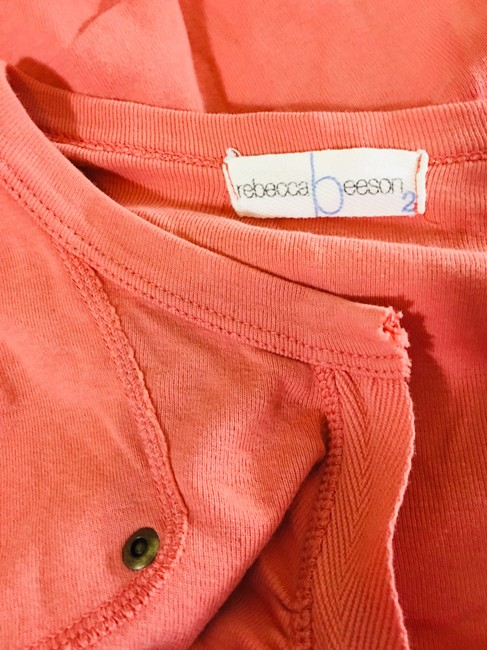 Rebecca Beeson Blouse Sweater Longsleeve T Shirt Salmon red Image 4