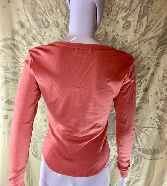 Rebecca Beeson Blouse Sweater Longsleeve T Shirt Salmon red Image 6