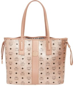 MCM Tote in Champagne