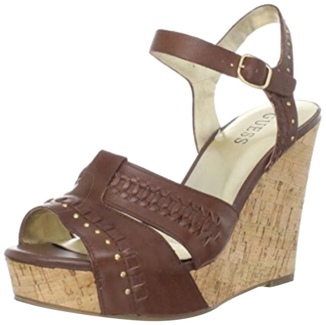 Guess By Marciano Hanan Wedges Size US 7.5 Regular (M, B) Guess By Marciano Hanan Wedges Size US 7.5 Regular (M, B) Image 1