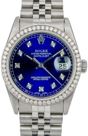 Preload https://img-static.tradesy.com/item/24127047/rolex-blue-mens-datejust-steel-diamond-dial-diamond-bezel-36mm-watch-0-1-540-540.jpg