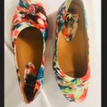 Earthies Multi-colored Vanya Small Wedge Flats Size US 8.5 Regular (M, B) Earthies Multi-colored Vanya Small Wedge Flats Size US 8.5 Regular (M, B) Image 3