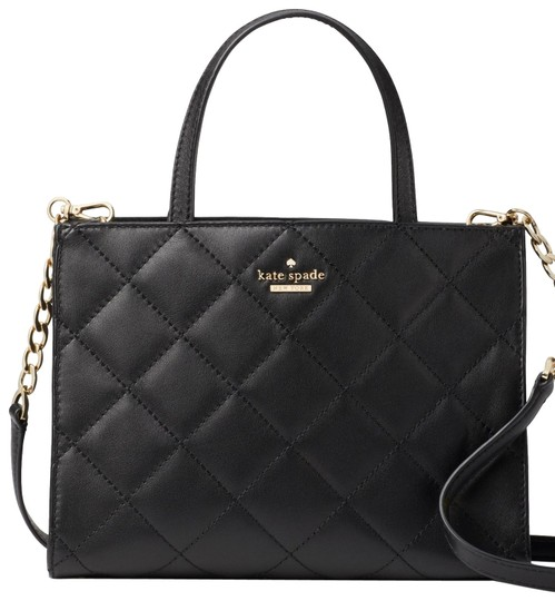 Preload https://img-static.tradesy.com/item/24127265/kate-spade-emerson-place-quilted-shoulder-black-leather-cross-body-bag-0-1-540-540.jpg