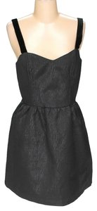 Jack Slip Zipper Party Fit And Flare Dress