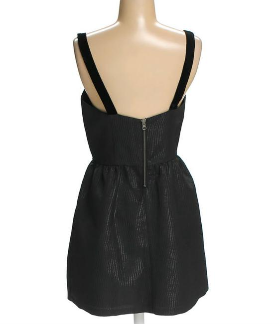 Jack Slip Zipper Party Fit And Flare Dress Image 3