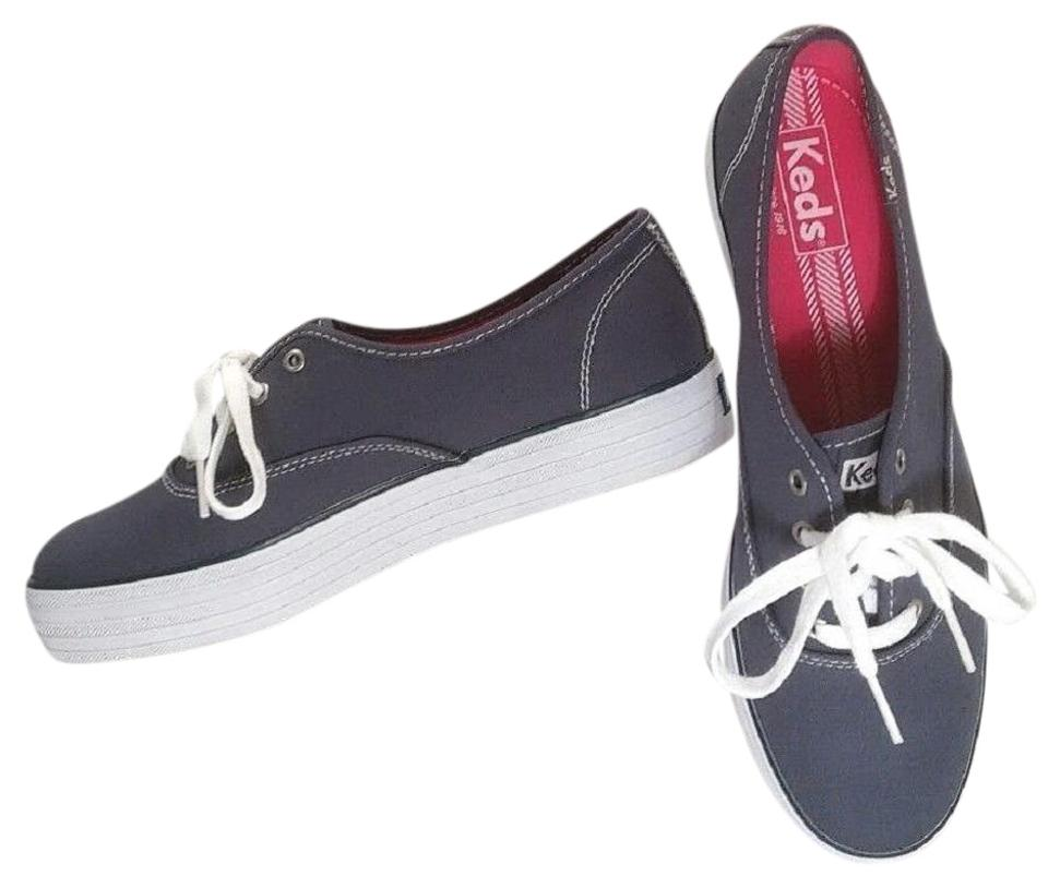 dceea25a56dfb Keds Blue Denim Triple Decker Sneakers Size US 8.5 Regular (M