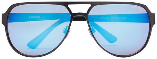 Preload https://img-static.tradesy.com/item/24127492/express-blue-two-tone-aviator-sunglasses-0-1-540-540.jpg
