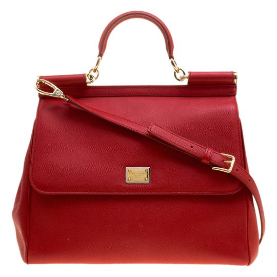 Preload https://img-static.tradesy.com/item/24127513/dolce-and-gabbana-large-miss-sicily-top-handle-red-leather-satchel-0-0-540-540.jpg