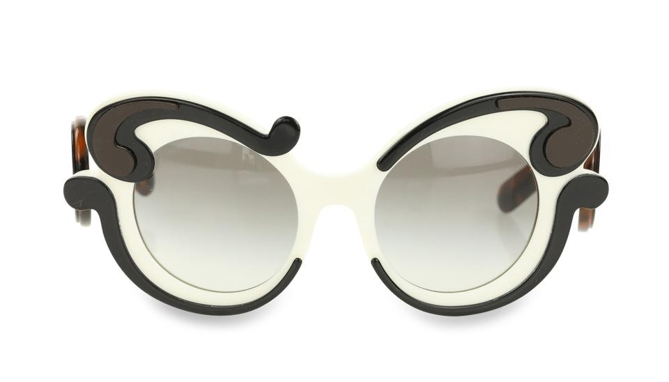 5f9cb4646cd1 Prada Multicolor Minimal Baroque Sunglasses - Tradesy