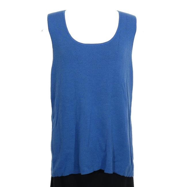 Preload https://img-static.tradesy.com/item/24128181/eileen-fisher-marine-blue-wool-rib-2x-tank-topcami-size-24-plus-2x-0-0-650-650.jpg