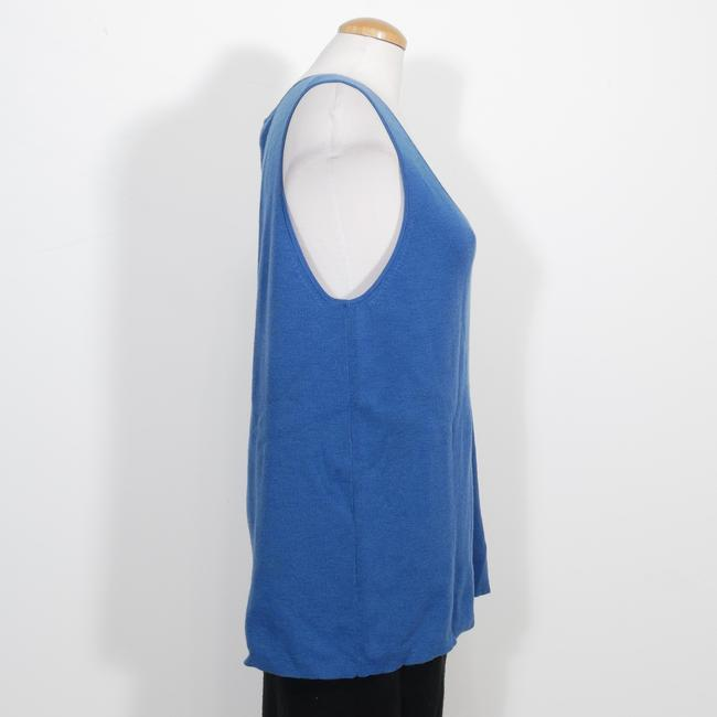 Eileen Fisher Top Marine Blue Image 1