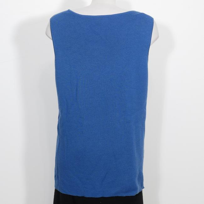Eileen Fisher Top Marine Blue Image 2