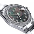 Rolex Stainless Steel Black Pearl 36mm Datejust Oyster Bracelet Watch Rolex Stainless Steel Black Pearl 36mm Datejust Oyster Bracelet Watch Image 2