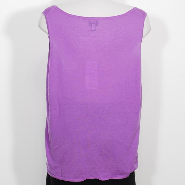 Eileen Fisher Top Orchid Purple Image 1