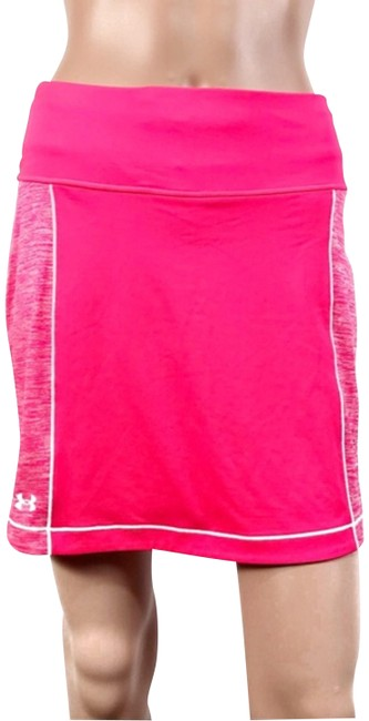Under Armour Neon Pink/Coral Skirt Size 4 (S, 27) Under Armour Neon Pink/Coral Skirt Size 4 (S, 27) Image 1