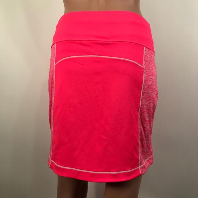 Under Armour Mini Skirt Neon Pink/Coral Image 1