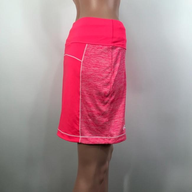 Under Armour Mini Skirt Neon Pink/Coral Image 2