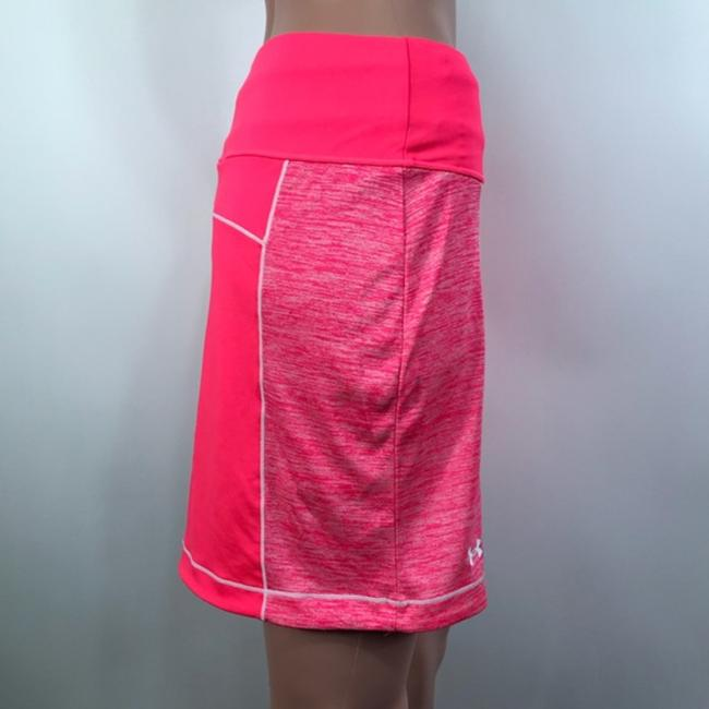 Under Armour Mini Skirt Neon Pink/Coral Image 4