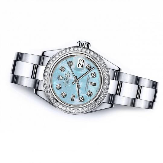 Rolex Rolex Blue Pearl 8+2 36mm Datejust Stainless Steel Oyster Bracelet Image 2